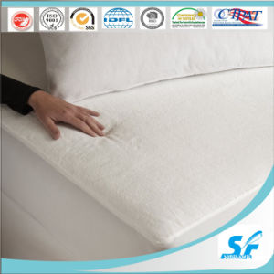 Fully Fitted Terry Cotton Waterproof Towelling Mattress Protector pictures & photos