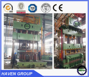 YQK 27-1800 single action hydraulic stamping press pictures & photos