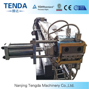 Recycled Plastic Granulation Twin Screw Extruder Machine pictures & photos