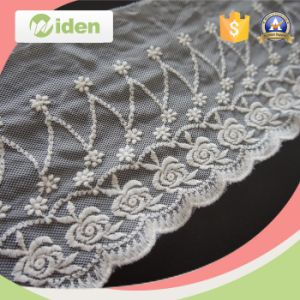 Most Popular Austrian Embroidery Designs Flower Cutwork Thin Venice Lace pictures & photos