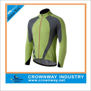 Newest Design Softshell Men′s Cycling Jacket pictures & photos