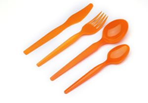 Plastic Disposable Cutlery, Disposable Spoons, Disposable Forks pictures & photos