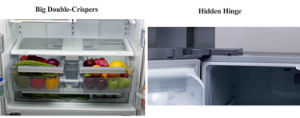 No Frost French Door Side by Side Refrigerator with Icemaker pictures & photos