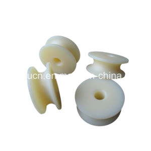 Machine Hard Rail Plastic Pulley/Wheel/Gear pictures & photos