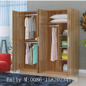 Home Furniture Durable Bedroom Wardrobe pictures & photos