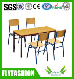 Hot Sale Nursery Furniture Rectangular Wooden Children Study Table (SF-15C) pictures & photos