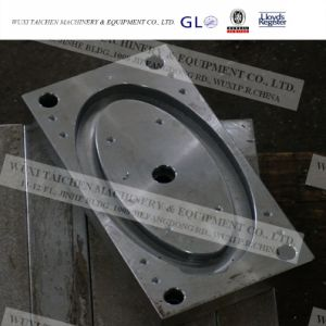 Steel Structure Fabrication Machining Parts Cover Plate pictures & photos