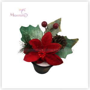 15cm X′mas Decorative Flowers Christmas Tree Decoration pictures & photos