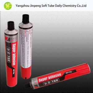 Aluminum Tubes Glass Adhesive Tubes pictures & photos