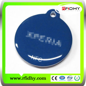 Ntag213/S50/S70/DESFire/Ultralight RFID NFC Keyfob Tag pictures & photos