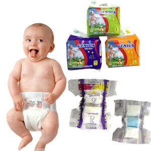 Purple Small Bag high Quality Baby Diaper (Genius Baby) pictures & photos