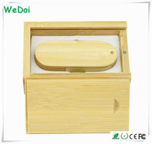 Hot Selling Swivel Wooden USB Flash Drive with 1 Year Warranty (WY-W11) pictures & photos