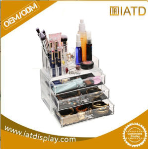 Custom Acrylic Display Cosmetic Makeup Box pictures & photos