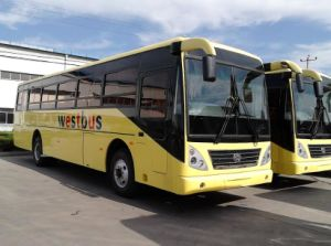 Right Hand Drive Luxury Coach Tourist Bus 40-60seats Low Price pictures & photos