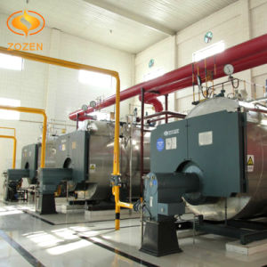 Packaged Oil Fired Water Heater with Low Emission