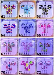 Hot Design Painting Headphone Earphone for iPhone 6/5 with Volume Control & Mic pictures & photos