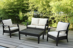 Wicker Outdoor Furniture Garden Patio Rattan Sofa Set (FS-2921+FS-2922+FS-2923) pictures & photos