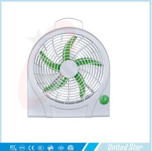 2015 Hot Sell 10′′ Electric Plastic DC Box Fan pictures & photos