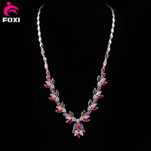 Fancy Design Fashion Gemstone Necklace for Party pictures & photos