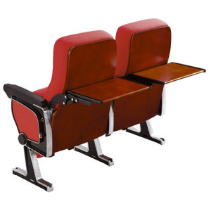 Aluminum Auditorium Chair with Back Writing Board