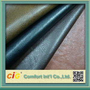 High Quality Colorful PU Shoe Lining Leatherr pictures & photos
