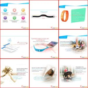 Step Counter, Calorie Counter, Smart Bracelet, OEM Factory Pedometer pictures & photos