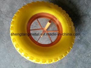 Without Air Flat Free PU Foam Wheel