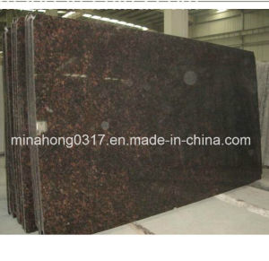 Hzx Tan Brown Granite Slabs Ramdom Size pictures & photos