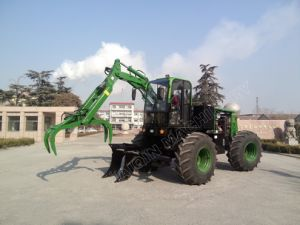 Hot Selling 4*4 Sugarcane Grab Loader (HQ8600) with SGS Certificate pictures & photos