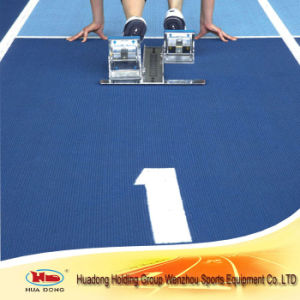 Multifunctional Outdoor Sport Ground Surface Rubber Running Track Flooring pictures & photos