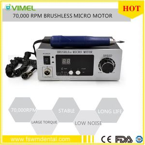 Dental Equipment 70, 000 Rpm Brushless Micromotor for Carving, Polishing pictures & photos