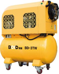 Portable Scroll Air Compressor with Tank pictures & photos