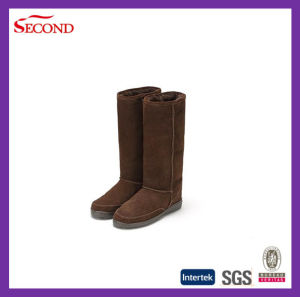 Cow Suede Upper Women Shoes Boots