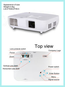 Mini Full HD Projector, Multimedia LED Projector pictures & photos