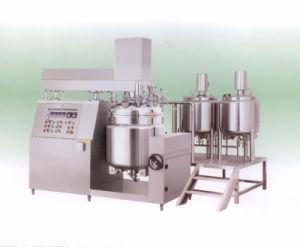 Vacuum Homogenzing Emulsifier with Oil Water Pot Mixer pictures & photos