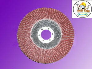 Calcined Fused Alumina Flap Disc for Grinding and Polishing Metal/Wood pictures & photos