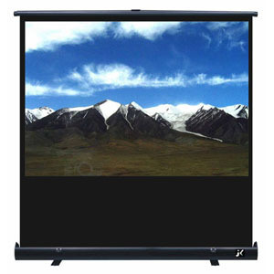 Portable Floor Projection Screen with Portable Bracket pictures & photos