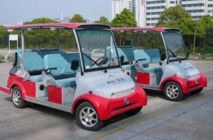 Green Energy 6 Seater Electric Car Sightseeing Bus with Suitable Price on Sale pictures & photos