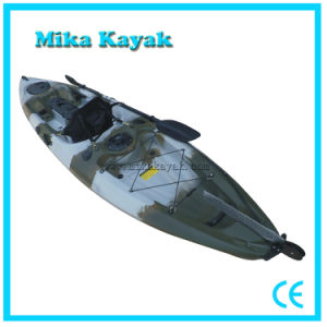 Plastic Ocean Fishing Kayak Pedal Boat Sit on Top Paddle Canoe pictures & photos