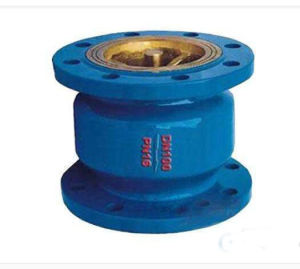 Energy Saving Muffle Silent Back-Pressure Reflux Check Valve for Water Pipeline pictures & photos