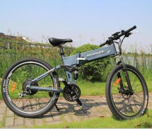 26′ Front and Rear Disc Brake Mountain Electric Bike pictures & photos