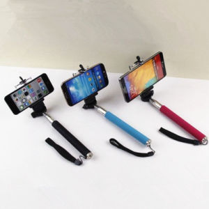 Monopod Selfie Stick with Bluetooth pictures & photos