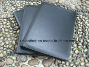 2016 A4 Quality Leather Presentation Folder Conference File Holder pictures & photos