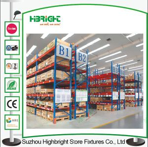Warehouse Storage industrial Push Back Pallet Rack pictures & photos