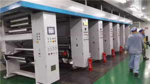 Used 5 Color Gravure Printing Machine for Carton Preprinting pictures & photos