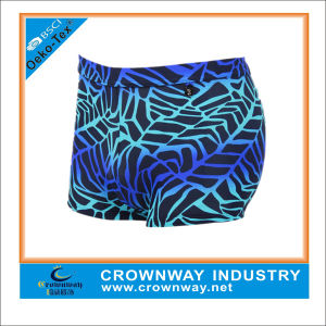 Nylon/Spandex Men Swimming Shorts Trunk with Digital Printing pictures & photos