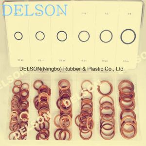 Copper Ring Copper Washer 6size 110PCS Auto Sealing pictures & photos