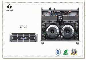 New Front Panel Professional Power Audio Amplifier EV-14 pictures & photos