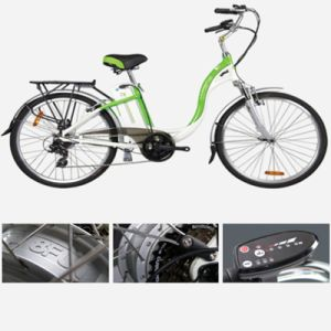 26 Inch Lithium Battery City Electric Bicycle (LN26C05)