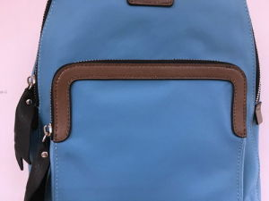 Wholesal Fashion Lady Nylon with Leather Backpack /Hight Quality (1607-47) pictures & photos